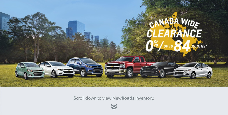GM Canada Wide Clearance