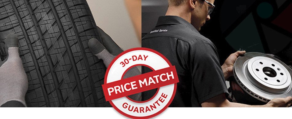 GM Tire 30 Day Price Match