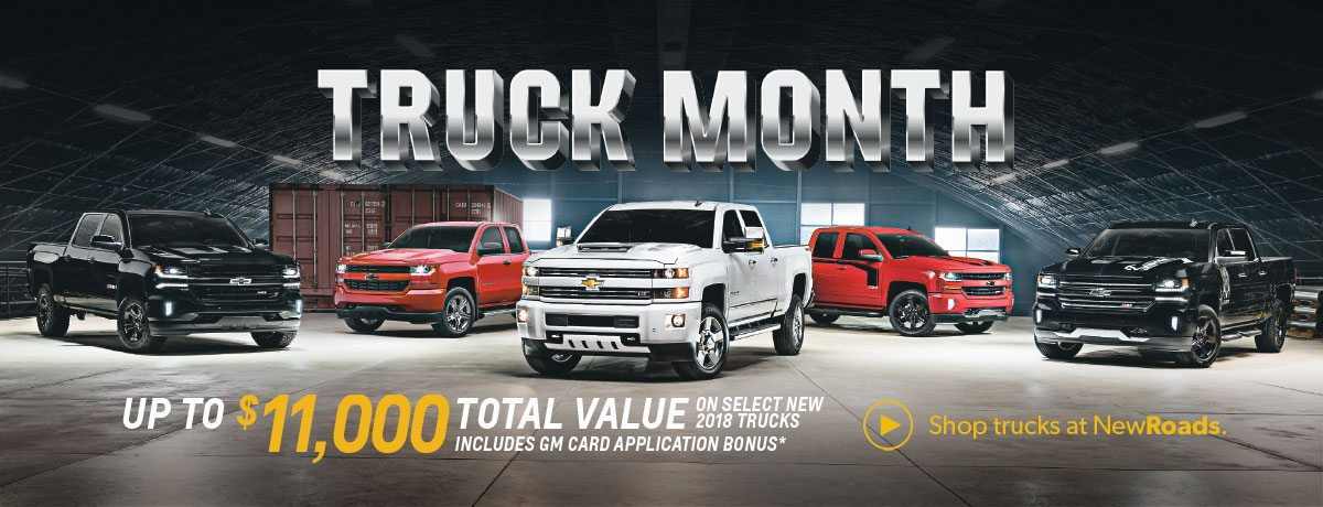 Chevrolet Truck Month Specials in Newmarket