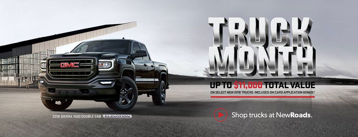 GMC Truck Month Specials in Newmarket