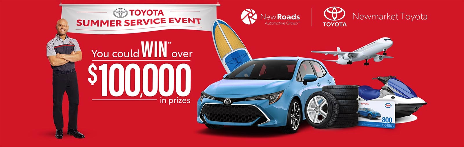 Toyota Summer Service Event in Newmarket Ontario
