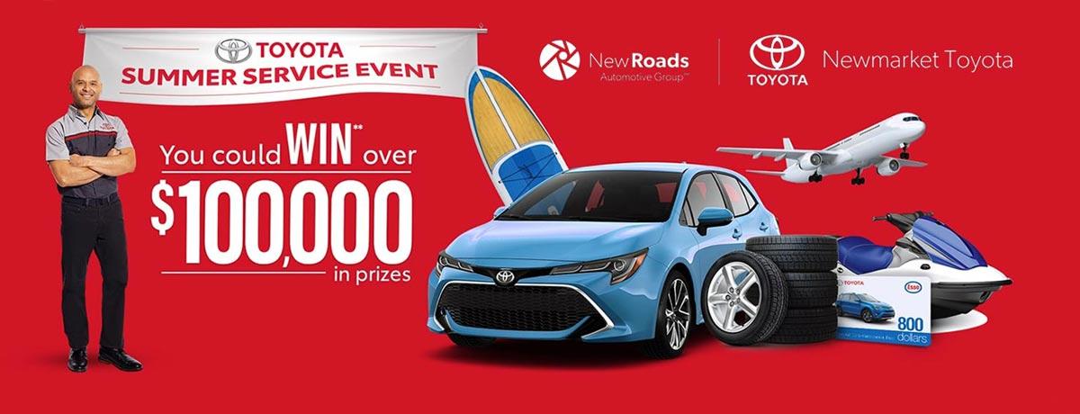 Newmarket Toyota Summer Service Event