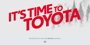 It's Time to Toyota Newmarket