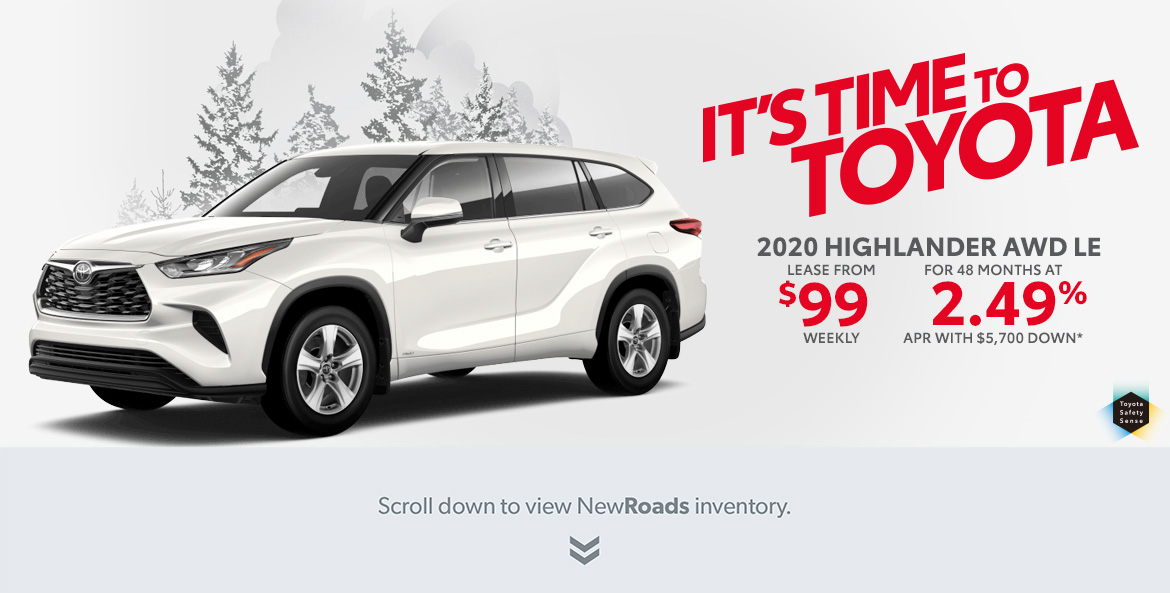Toyota Highlander for sale in Newmarket Ontario