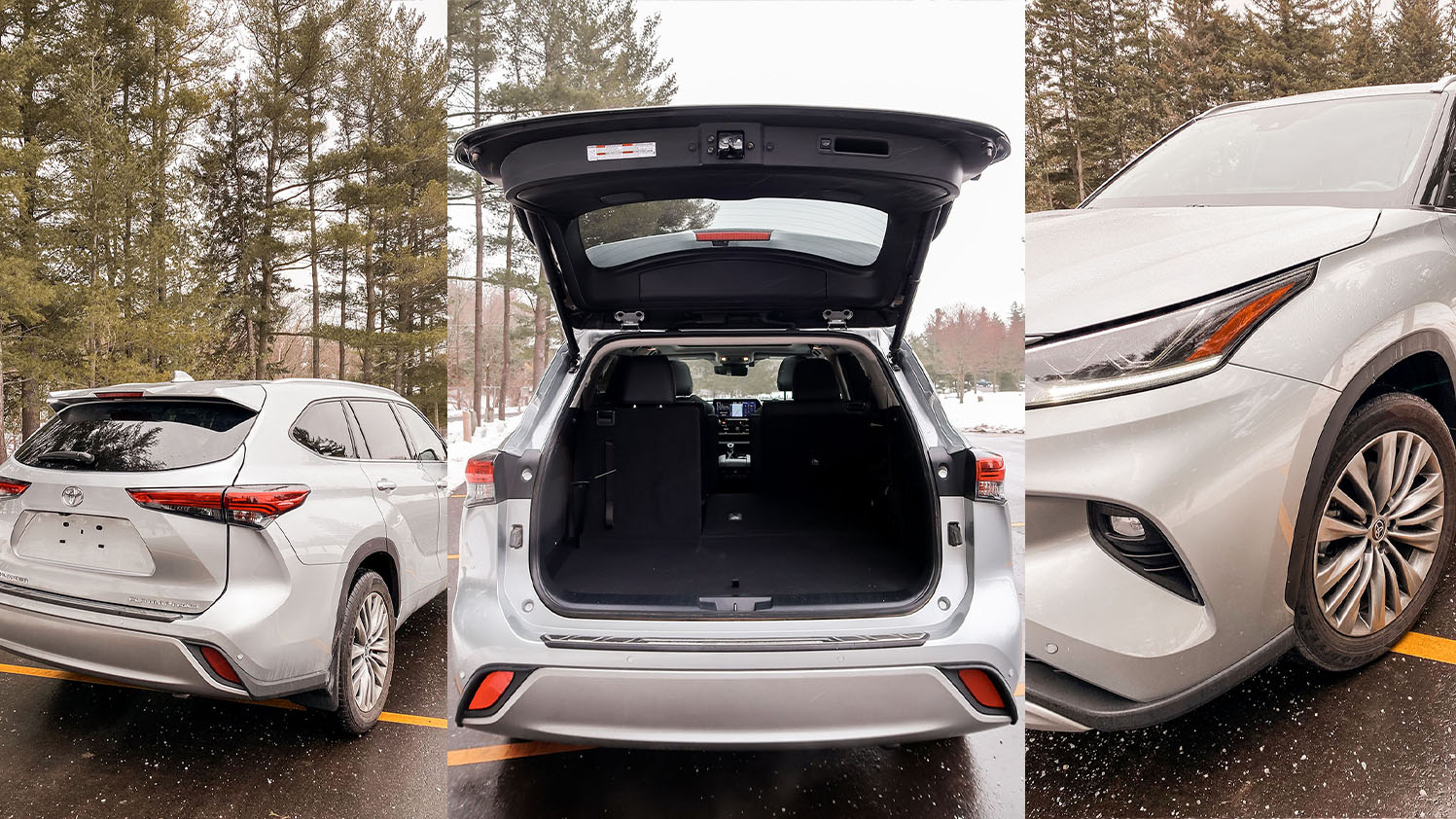 Toyota Highlander cargo space