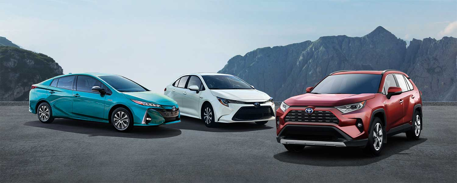 Toyota-Hybrid-Vehicles