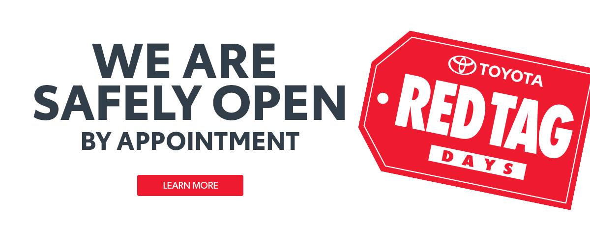 Toyota Dealership Open in Ontario