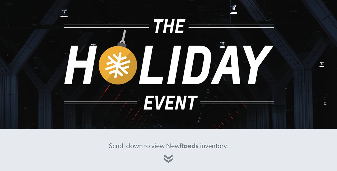 NewRoads GM Newmarket Holiday Sales Event