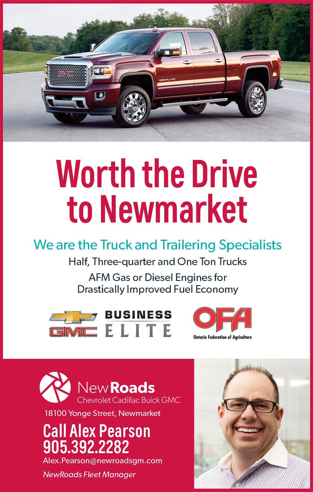 NewRoads Business Elite OFA Fleet in Newmarket