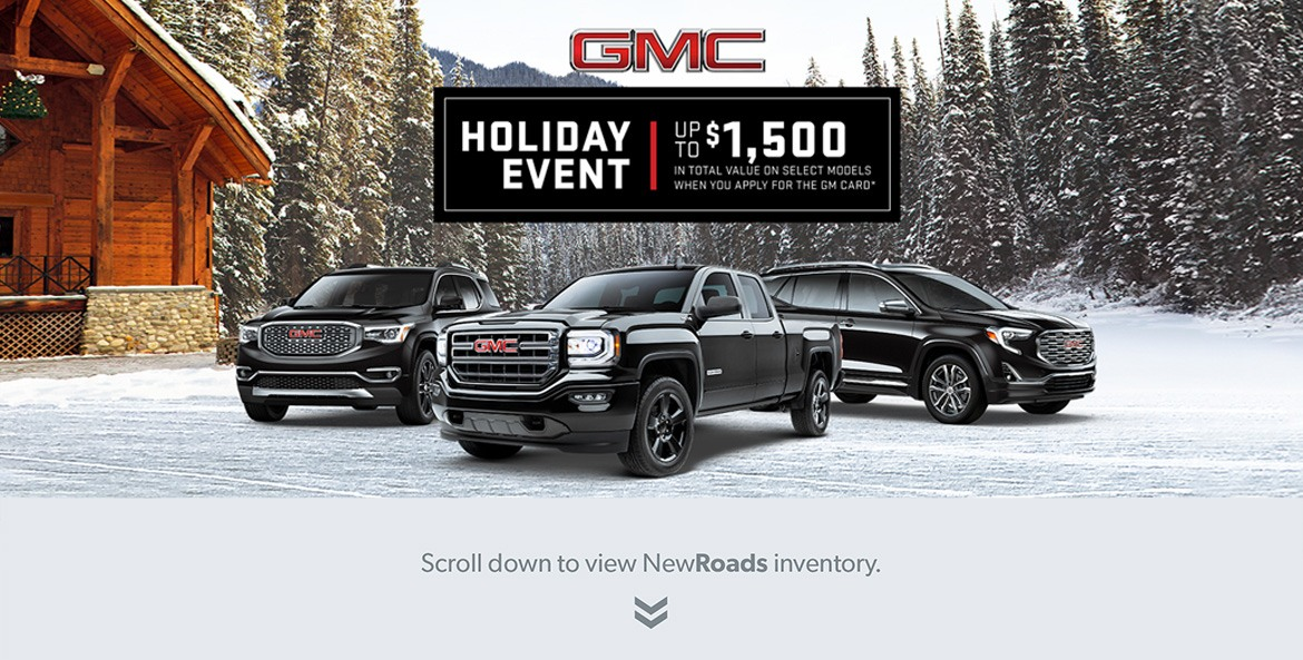 GMC Holiday Sales Event in Newmarket