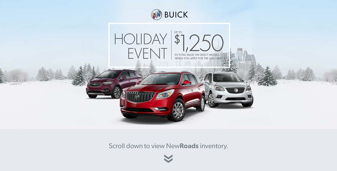 Buick Holiday Sales Event