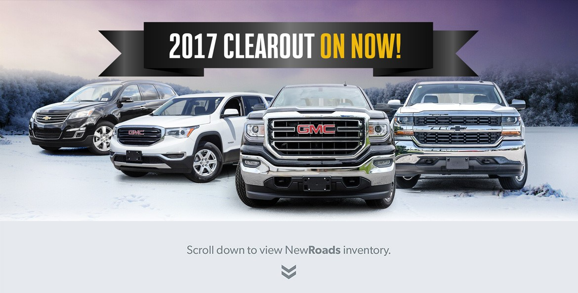 NewRoads Inventory Blowout