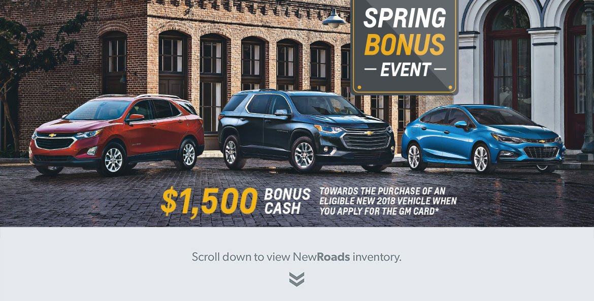 Chevrolet Sales Special Newmarket