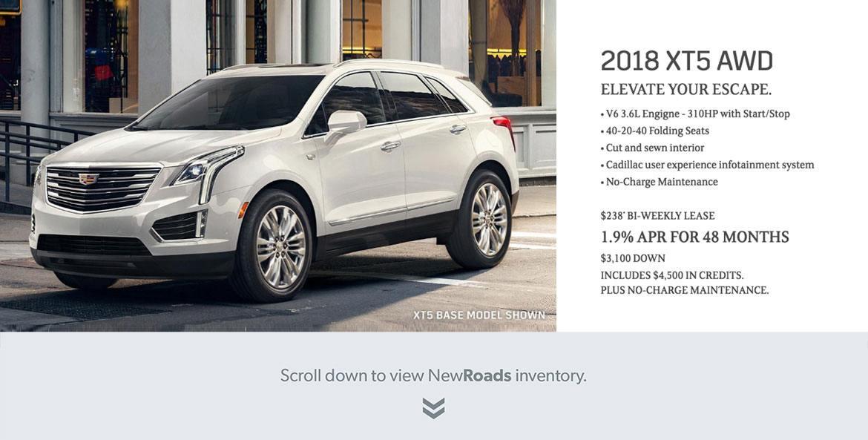 2018 Cadillac XT5 AWD Newmarket