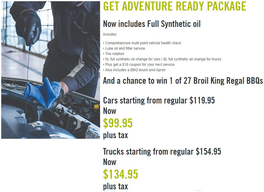 GET ADVENTURE READY PACKAGE – $99.95