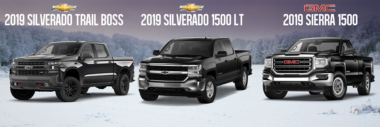 Chevrolet Silverado and GMC Sierra in Newmarket, Ontario
