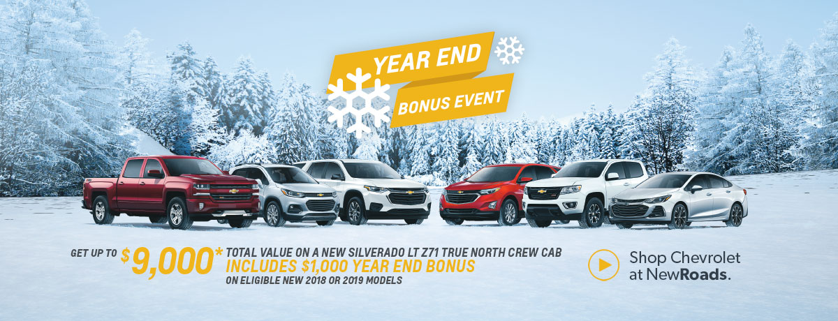 Chevrolet Year End Event