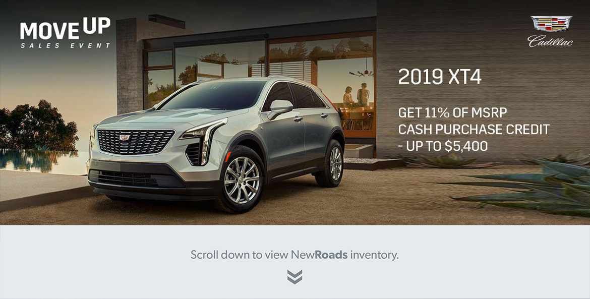 Cadillac XT4 Crossover in Newmarket Ontario