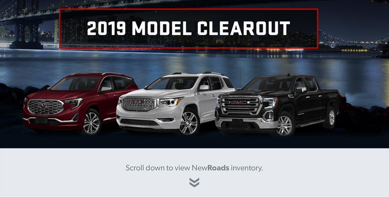 2019 GM Clearance