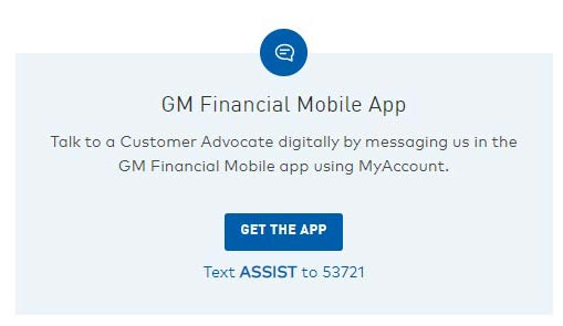 GM Financial App