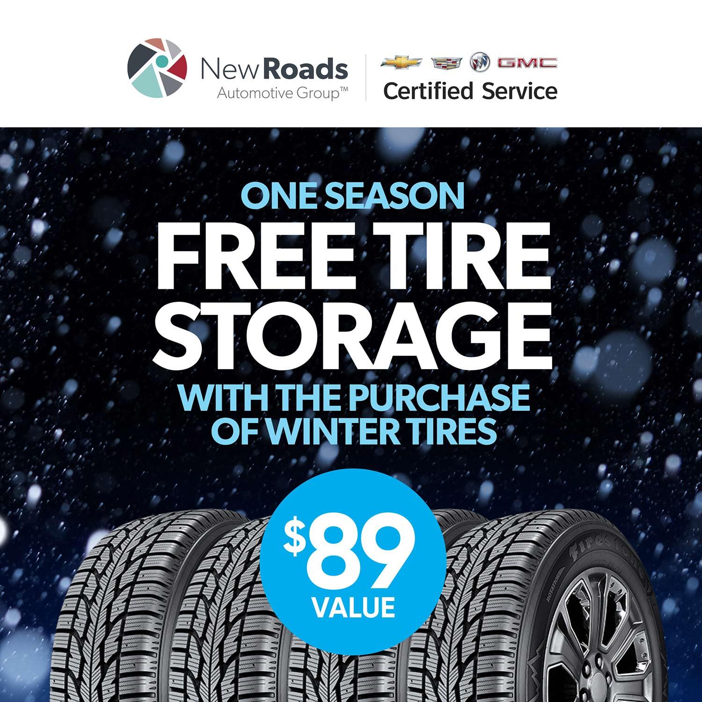 Free Tire Storage Newmarket Ontario