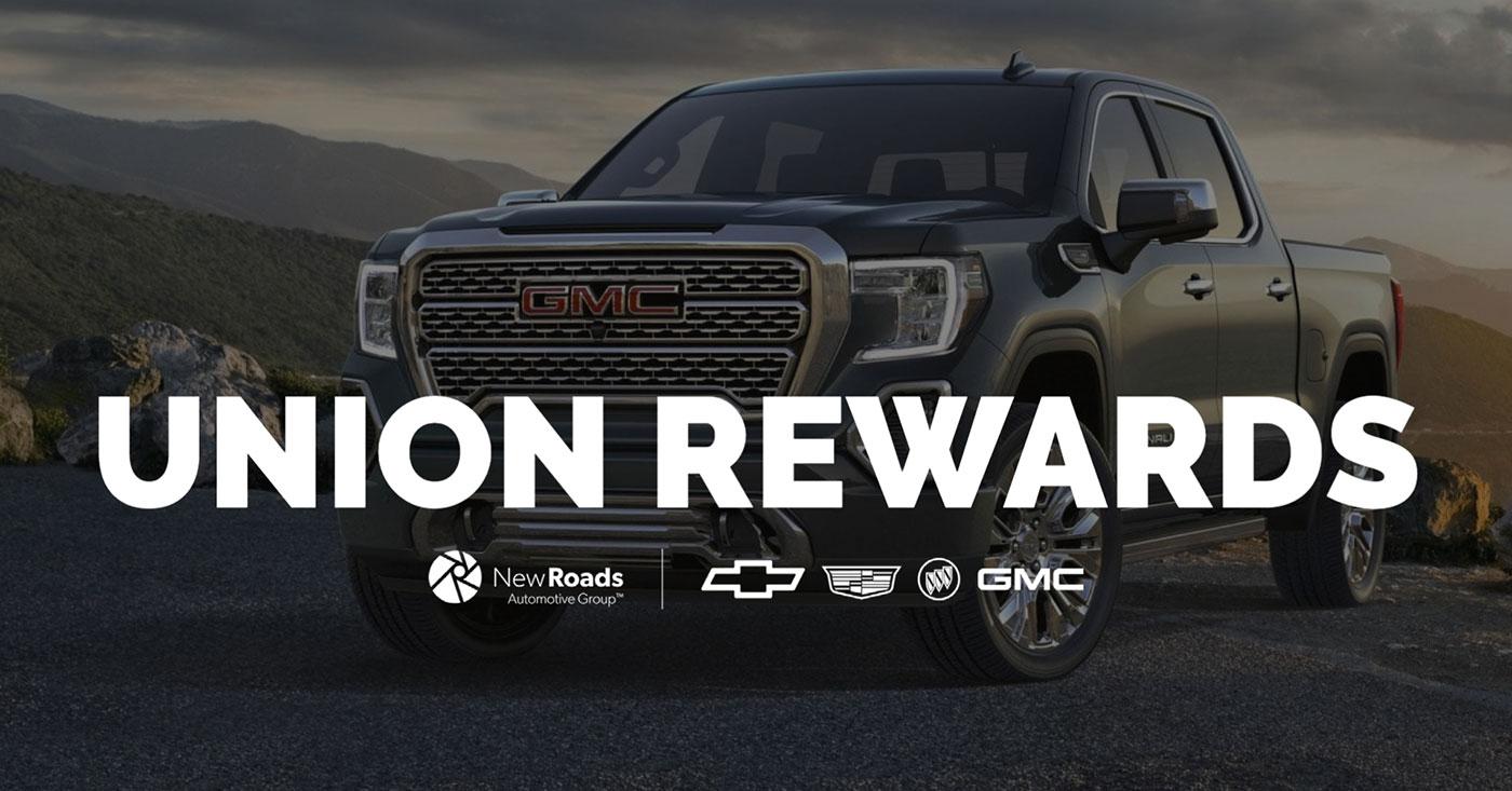 GM Select Nationwide Union Rewards