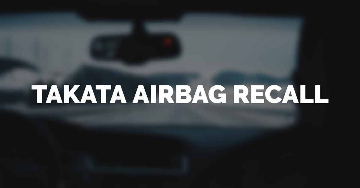 GM Takata Airbag Recall Canada Information