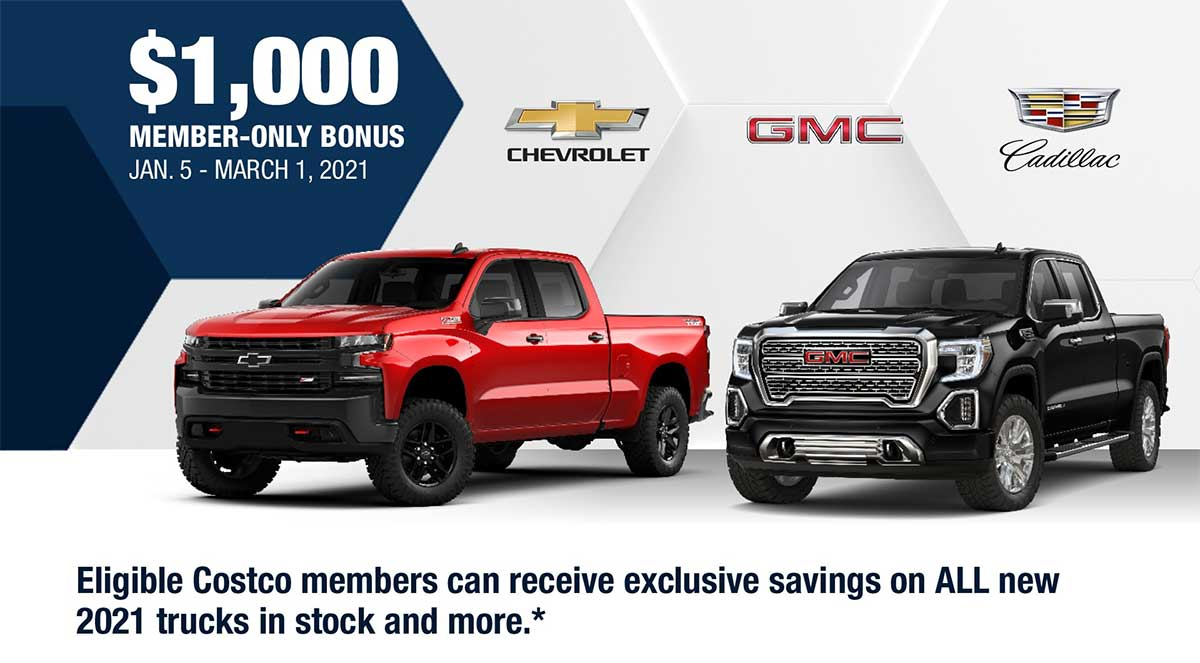 GM Costco Discount Newmarket Ontario
