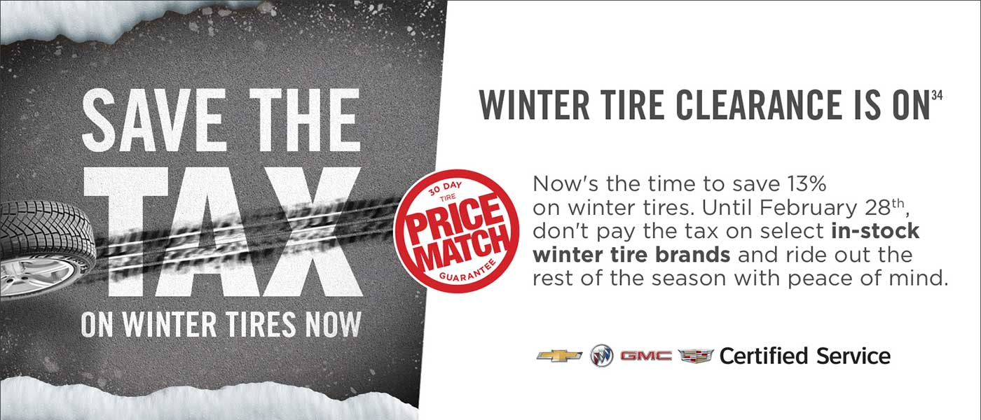 Save the Tax Winter Tires