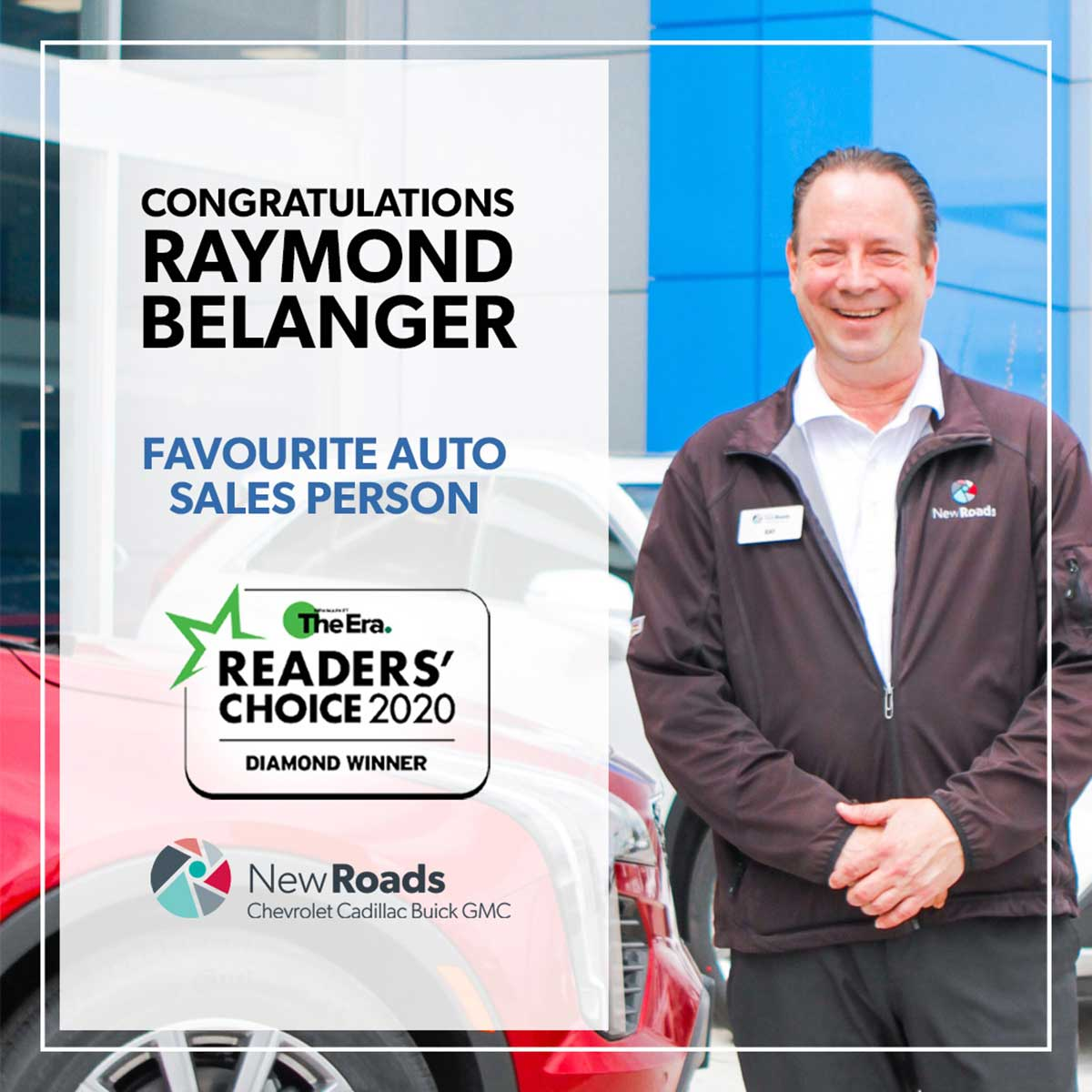 Readers' Choice Best Car Sales Person