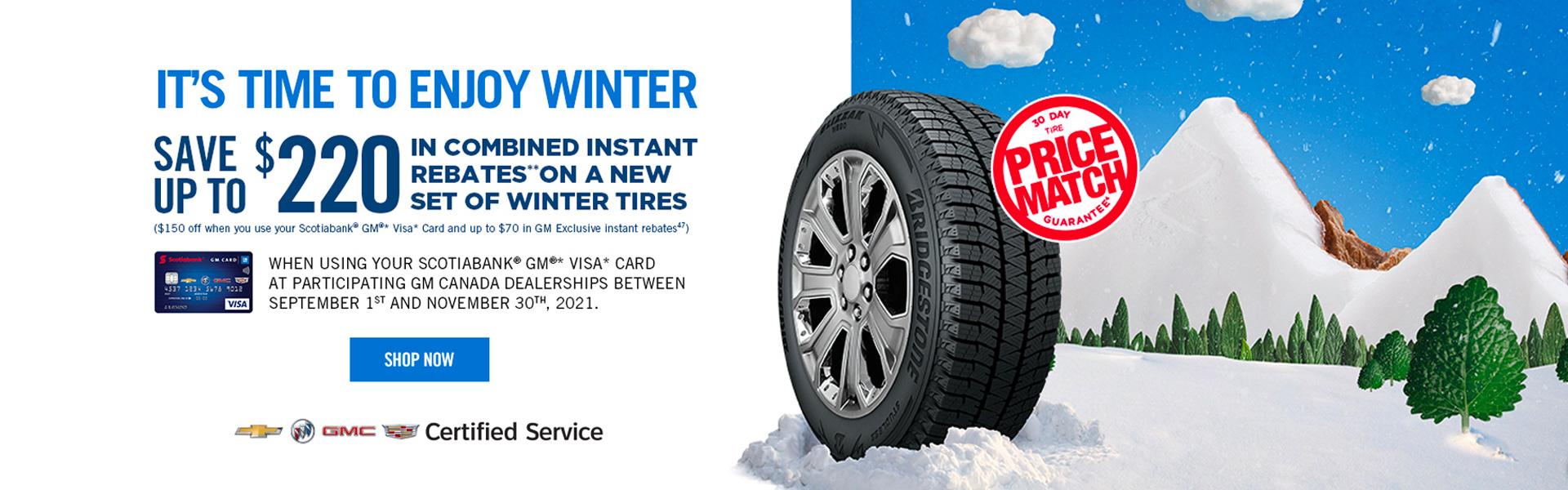 Winter Tyre Shop in Newmarket Ontario
