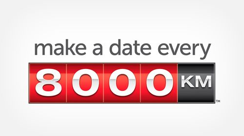 Book a checkup every 8,000KM