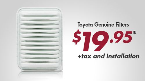 Toyota Genuine Filters