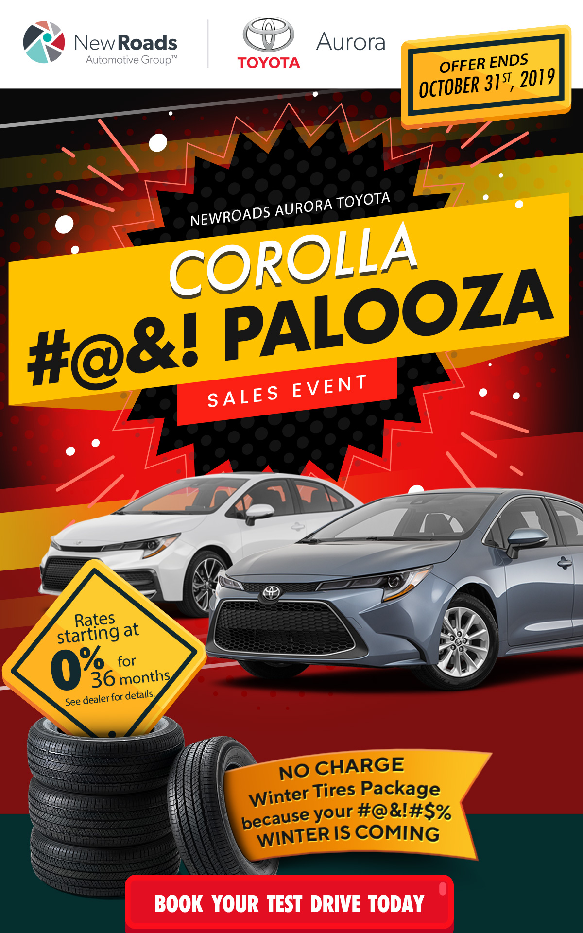 Toyota Corolla Palooza Aurora Ontario