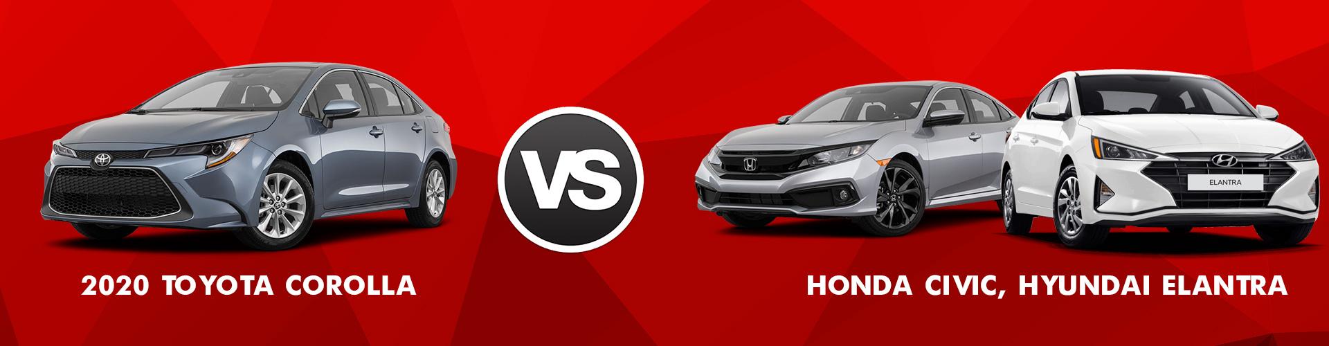 Compare Toyota Corolla