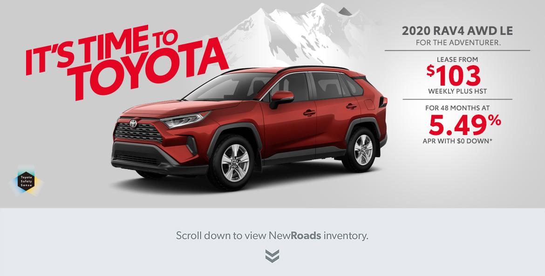 Toyota RAV4 for sale in Aurora, Ontario