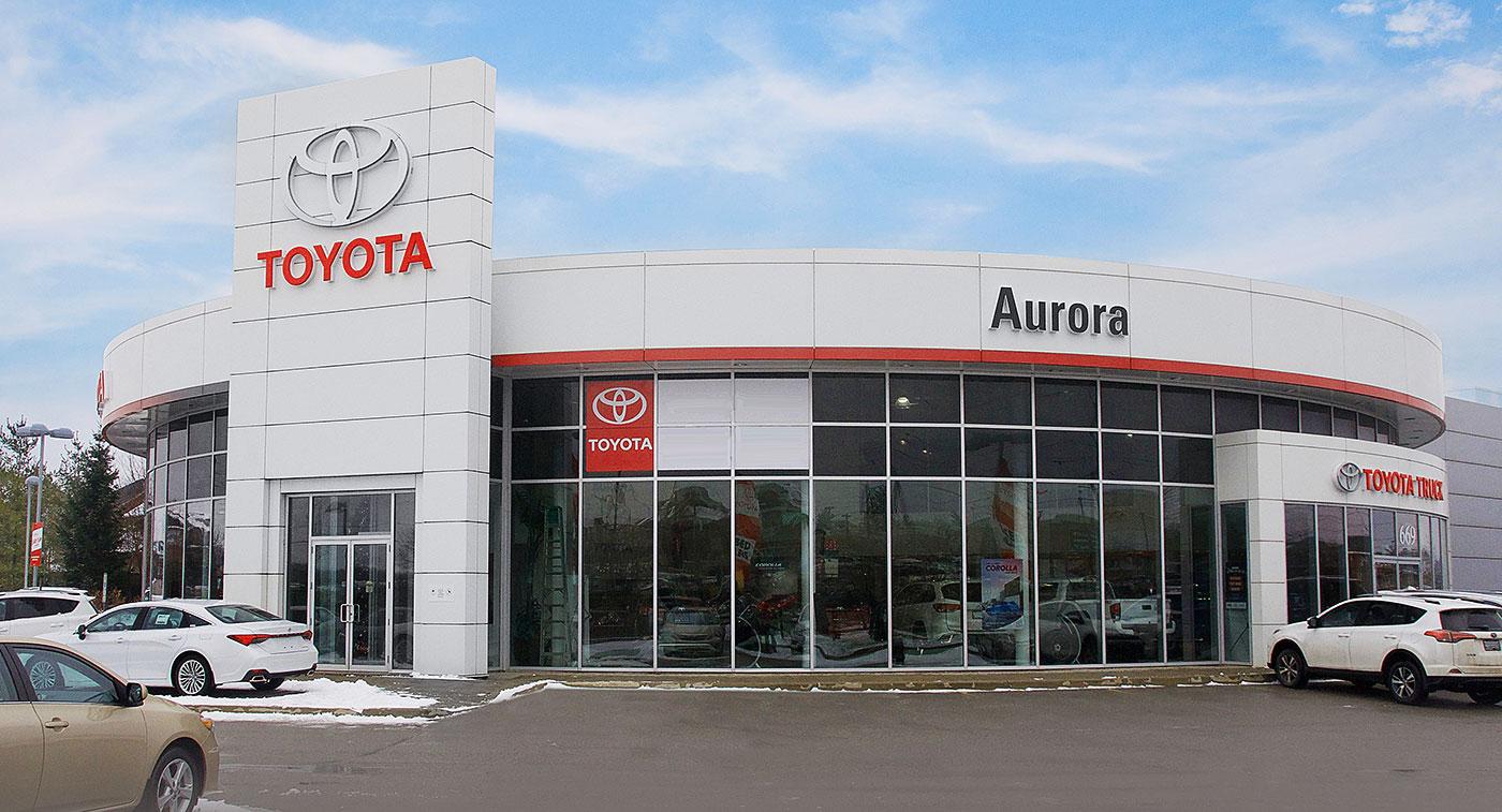 NewRoads Aurora Toyota Dealership