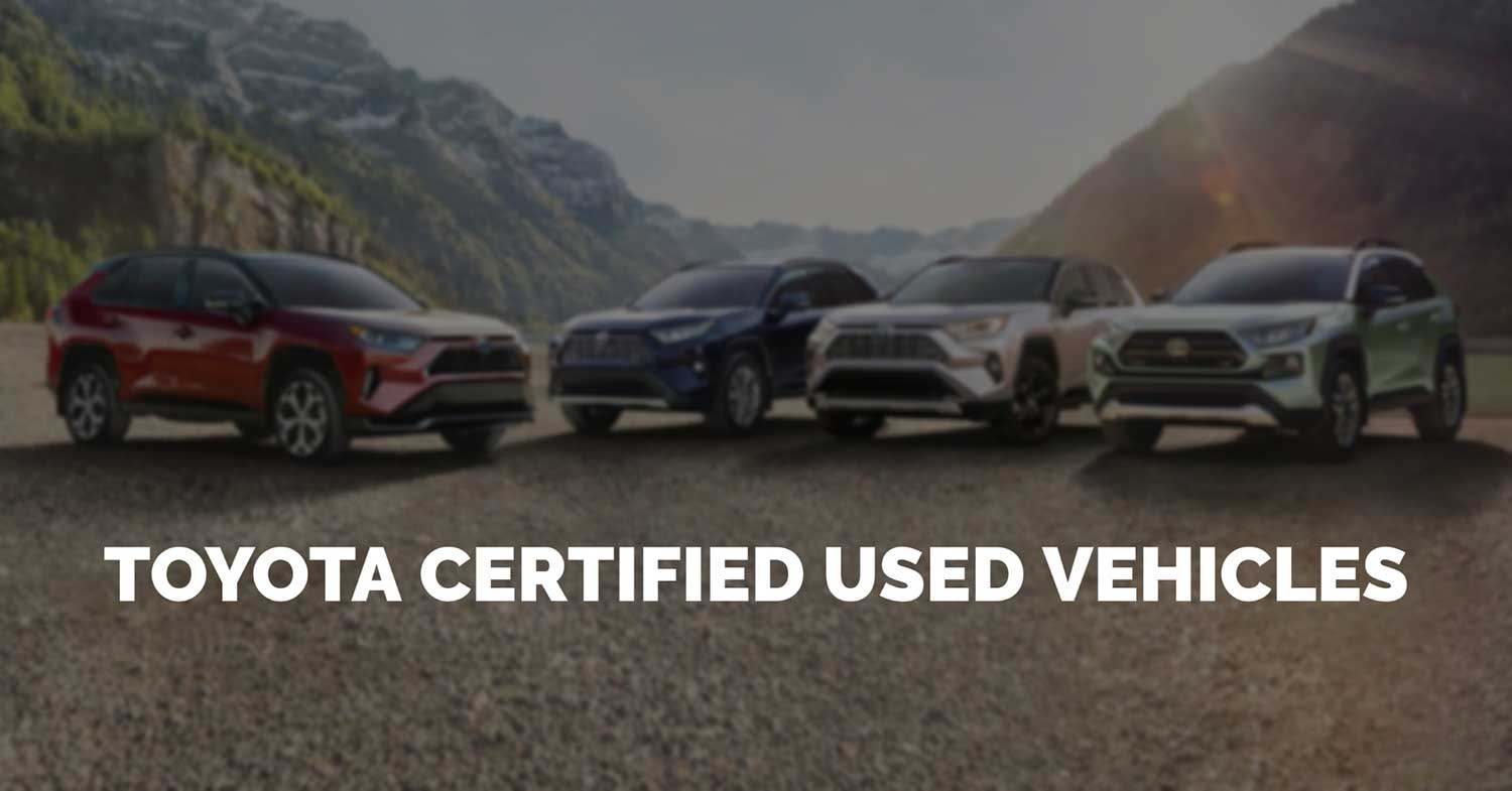 TCUV Toyota Certified Used Vehicle Program
