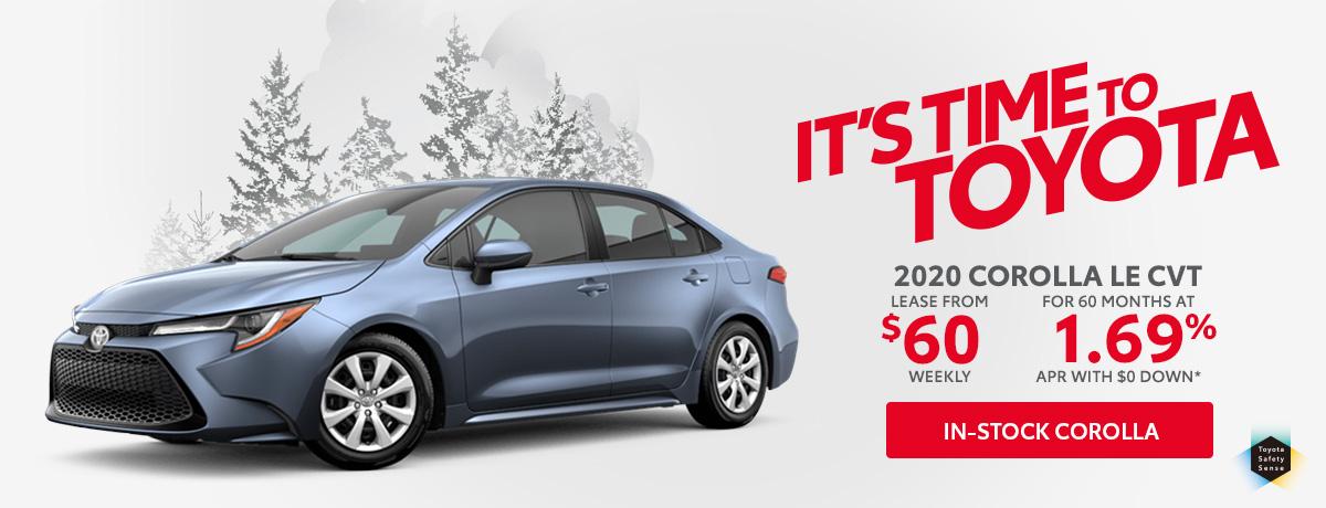 Toyota Corolla for sale Aurora Ontario