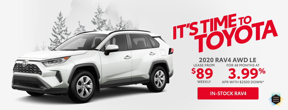 Toyota RAV4 for sale in Aurora Ontario