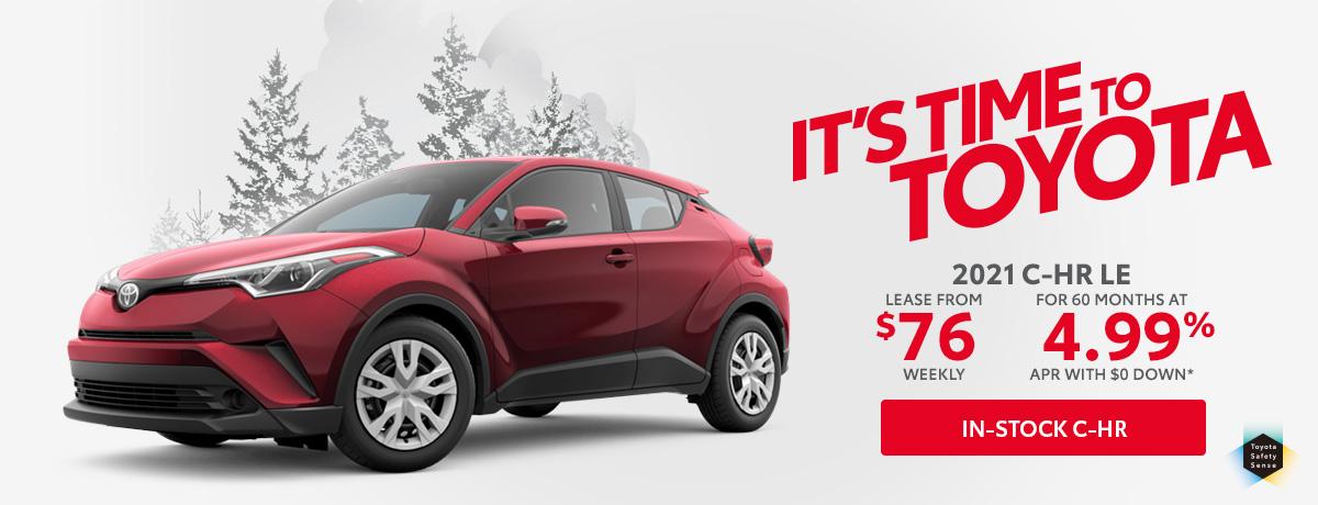 Toyota C-HR for sale in Aurora Ontario