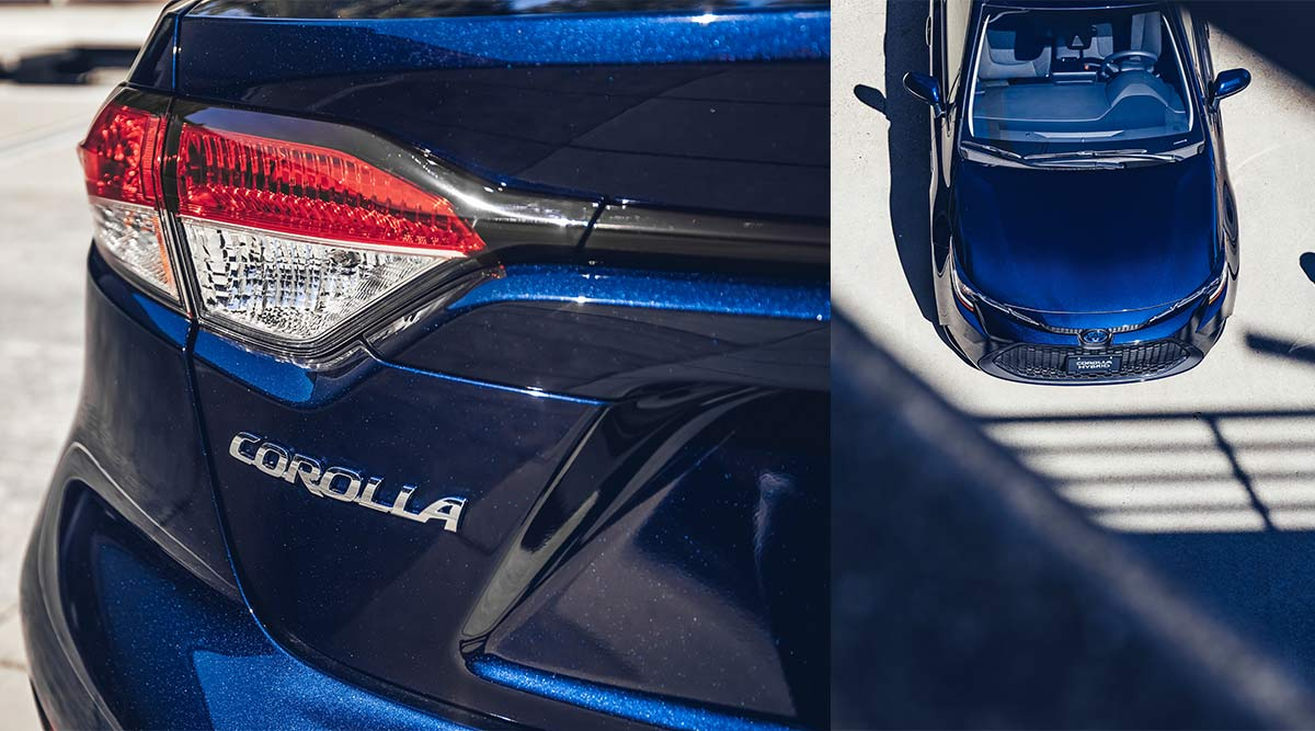 Corolla features